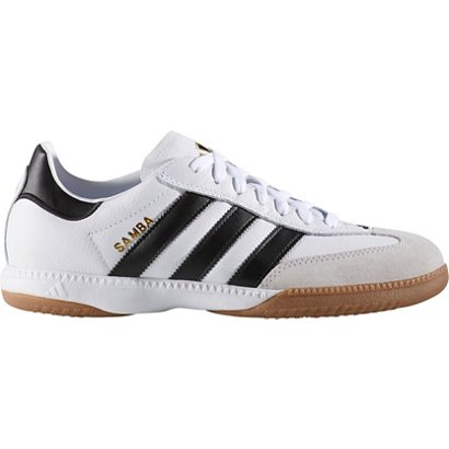 d25bd489b ... adidas Men s Samba Millennium Leather Indoor Soccer Shoes. Men s Soccer  Cleats. Hover Click to enlarge