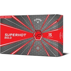 Superhot Bold '18 Golf Balls 15-Pack