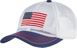 Academy Sports + Outdoors Men's Allover Mesh USA Cap