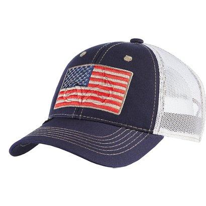 4405a4fa3c0d6 Outdoor Cap Men s Realtree American Flag Cap