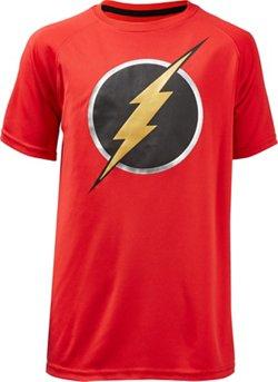 DC Comics Boys' Justice League The Flash T-shirt