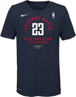 Nike Boys' New Orleans Pelicans Anthony Davis 23 Essential Player T-shirt