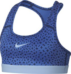 Nike Girls' Logo Strap AOP2 Sports Bra