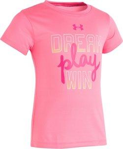 Under Armour Girls' Dream Play Win Short Sleeve T-shirt
