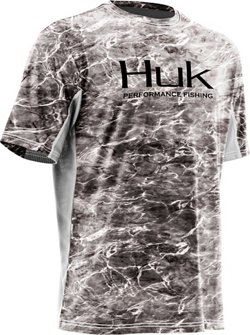 Huk Men's Mossy Oak Elements Icon Performance T-shirt
