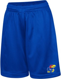Colosseum Athletics Kids' University of Kansas Basic Mesh Shorts