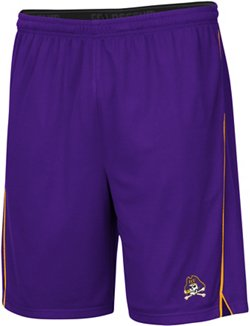 Colosseum Athletics Men's East Tennessee State University Embroidered Mesh Shorts