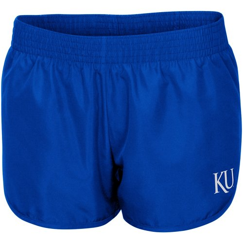Colosseum Athletics Women's University of Kansas Reflective Logo Shorts