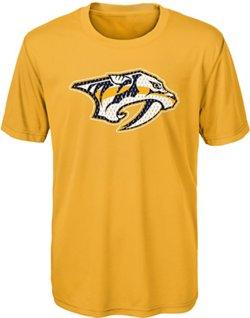 adidas Boys' Nashville Predators Dri-Tek T-shirt