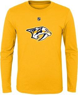 NHL Boys' Nashville Predators Primary Logo T-shirt
