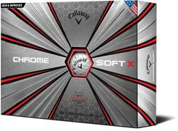 Callaway Chrome Soft X '18 Golf Balls 12-Pack