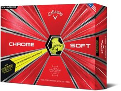 Callaway Chrome Soft TruVis '18 Golf Balls 12-Pack