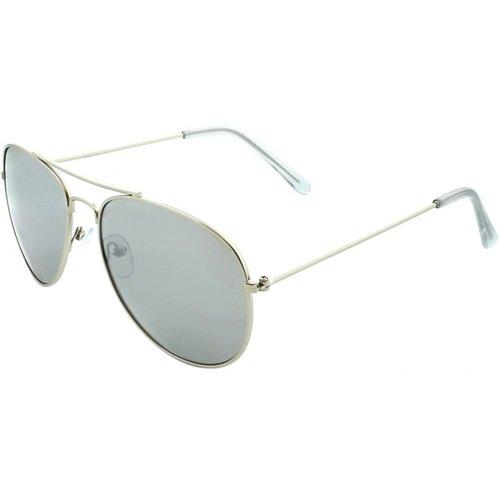 SOL PWR Thin Metal Aviator Sunglasses