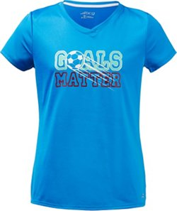 BCG Girls' Goals Matter Graphic Short Sleeve T-shirt