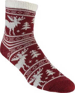 Magellan Outdoors Women's Moose Lodge Crew Socks