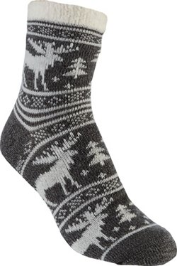 Women's Moose Lodge Crew Socks