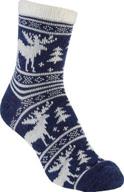 Magellan Outdoors Women's Moose Lodge Crew Socks