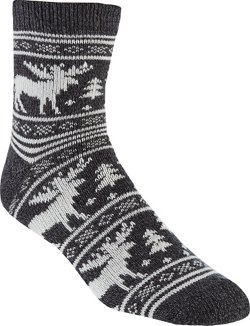 Men's Lodge Moose Crew Socks