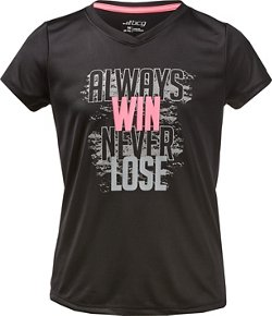 BCG Girls' Always Win T-shirt