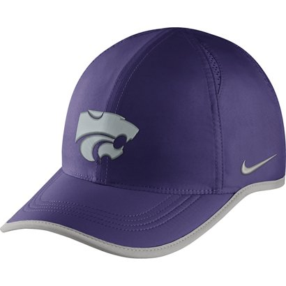 Nike Men s Kansas State University Aerobill Featherlight Cap  8895727ee3c