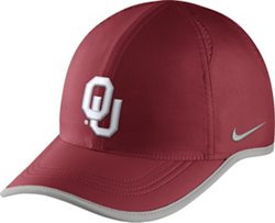 Nike Men's University of Oklahoma COL Featherlight Cap