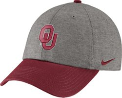 Nike Men's University of Oklahoma COL Heritage86 Heather Cap