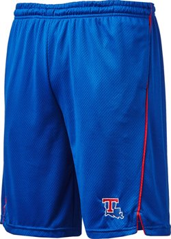 Colosseum Athletics Men's Louisiana Tech University Embroidered Mesh Shorts
