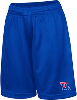 Colosseum Athletics Kids' Louisiana Tech University Basic Mesh Shorts