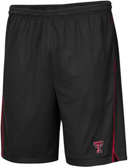 Colosseum Athletics Men's Texas Tech University Embroidered Mesh Shorts
