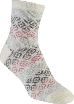 Magellan Outdoors Lodge Diamond Geo Crew Socks