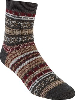Lodge Nordic Stripe Crew Socks