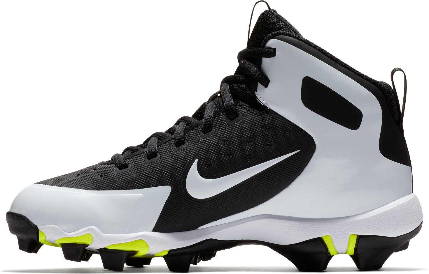 Nike Boys' Alpha Huarache Pro Mid MCS Baseball Cleats - view number 1