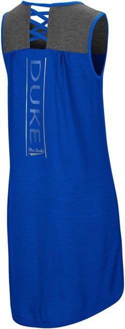Colosseum Athletics Girls' Duke University S'more Strappy Back Tank Dress