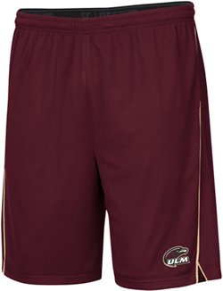 Colosseum Athletics Men's University of Louisiana at Monroe Embroidered Mesh Shorts