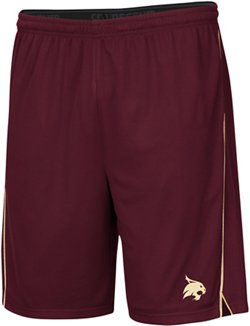 Colosseum Athletics Men's Texas State University Embroidered Mesh Shorts