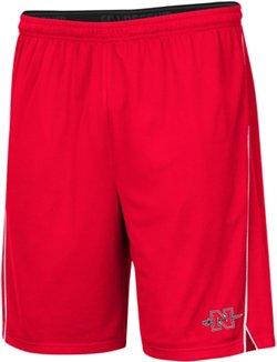 Colosseum Athletics Men's Nicholls State University Embroidered Mesh Shorts