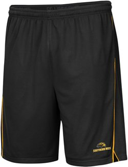 Colosseum Athletics Men's University of Southern Mississippi Embroidered Mesh Shorts
