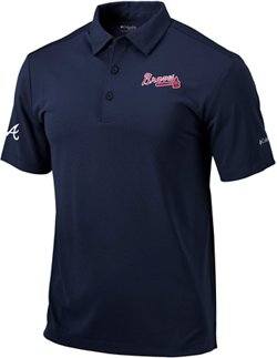 Men's Atlanta Braves Drive Golf Polo Shirt