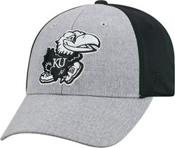 Top of the World Adults' University of Kansas 2-Tone Fabooia Cap
