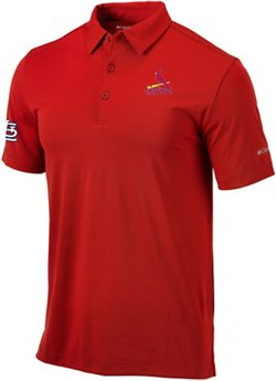 Men's St. Louis Cardinals Drive Golf Polo Shirt