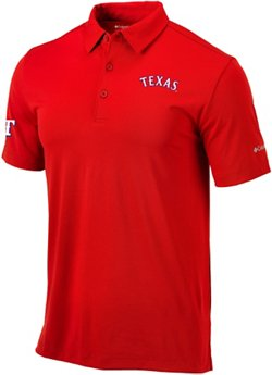 Men's Texas Rangers Drive Golf Polo Shirt