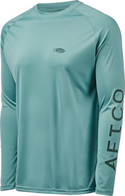 AFTCO Bluewater Men's Samurai Fishing Performance Long Sleeve T-shirt