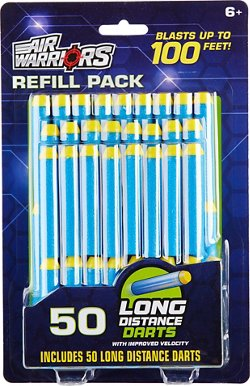 Buzz Bee Toys Air Warriors Long-Distance Dart Refills 50-Pack