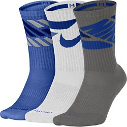 Men's Dry Cushion Graphic Crew Training Socks 3 Pack