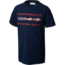 Boys' PFG Freedom Fish T-shirt