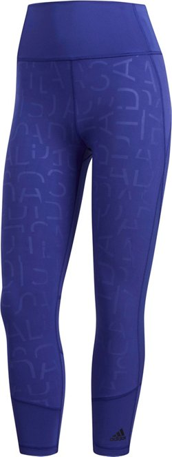 adidas Women's Compression-Fit Training Tights