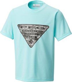 Columbia Sportswear Boys' PFG Triangle Camo T-shirt