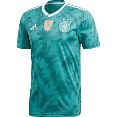 b95d93cfc075f adidas Men's 2018 Germany Away Soccer Jersey