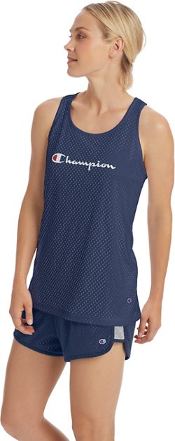 Champion Women's Reversible Mesh Tank Top