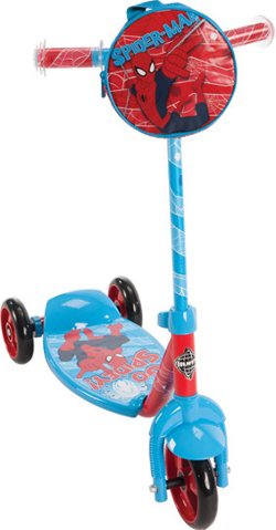 Huffy Kids' Marvel Spider-Man 3-Wheel Scooter